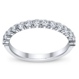 RB Signature 14k White Gold Diamond Wedding Ring 1/2 ct. tw. .