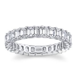 A. Jaffe 18k White Gold Diamond Wedding Band 2 3/4 ct. tw.
