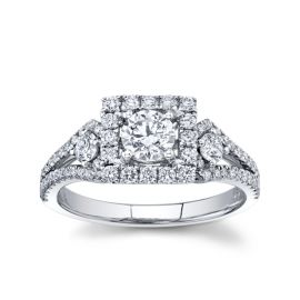 Utwo 14k White Gold Diamond Engagement Ring 1 ct. tw.