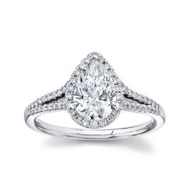 Eternalle Lab-Grown 14k White Gold Diamond Engagement Ring 1 1/4 ct. tw.