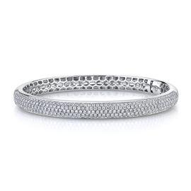 Memoire 18k White Gold Bracelet 3 ct. tw.