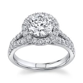 Eternalle Lab-Grown 14k White Gold Diamond Engagement Ring 2 1/4 ctw