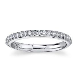 Tacori Platinum Diamond Wedding Band 1/3 ct. tw.