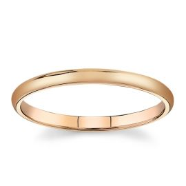14Kt Rose Gold Wedding Band