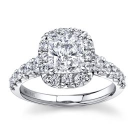 Henri Daussi Platinum Diamond Engagement Ring 2 1/2 ct. tw.