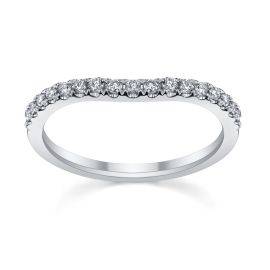 Platinum Diamond Wedding Band 1/5 ct. tw.
