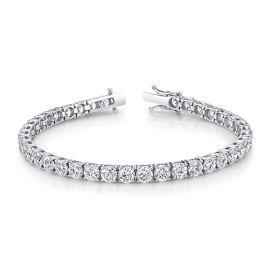 Eternalle Lab-Grown 14k White Gold Bracelet 15 ct. tw.