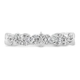 Kirk Kara 18k White Gold Diamond Wedding Band 1/7 ct. tw.
