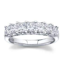 14k White Gold Diamond Wedding Ring 1 1/2 ct. tw.