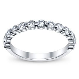 RB Signature 14k White Gold Diamond Wedding Ring 3/4 ct. tw. .