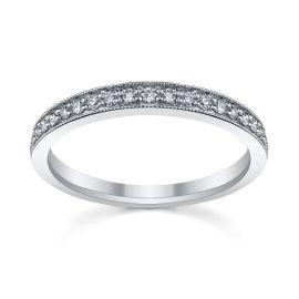 Platinum Diamond Wedding Band 1/5 ct. tw.