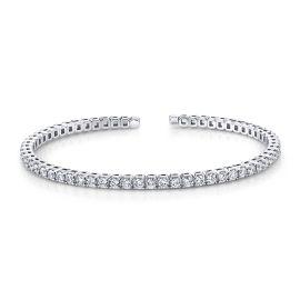 Memoire 18k White Gold Bracelet 1 1/2 ct. tw.