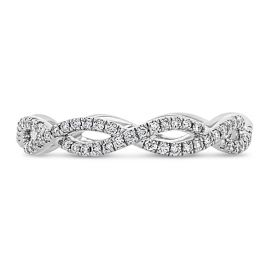 Coast Diamond 14k White Gold Diamond Wedding Band 1/5 ct. tw.