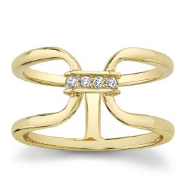 Michael M. 14k Yellow Gold Diamond Wedding Band .06 ct. tw.