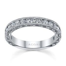 Tacori Platinum Diamond Wedding Band 1 ct. tw.