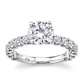 Eternalle Lab-Grown 14k White Gold Diamond Engagement Ring 2 1/2 ct. tw.
