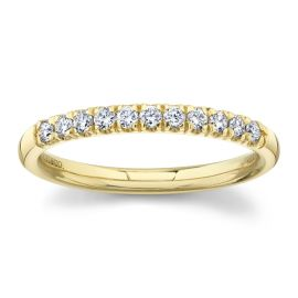 Gabriel & Co. 14k Yellow Gold Diamond Engagement Ring Setting 1/5 ct. tw.