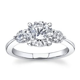Eternalle Lab-Grown 14k White Gold Diamond Engagement Ring 1 7/8 ct. tw.
