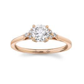 Forevermark 18k Rose Gold Diamond Engagement Ring 3/4 ct. tw.