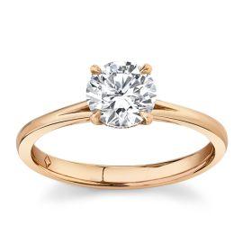 Forevermark 18k Rose Gold Diamond Engagement Ring 1 ct. tw.