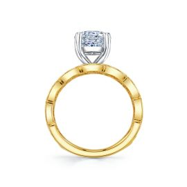 RB Signature 14k Yellow Gold Diamond Engagement Ring Setting .06 ct. tw.