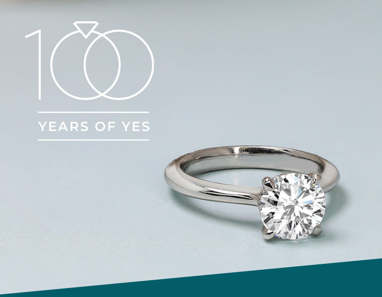 100 years of yes: vintage engagement ring styles