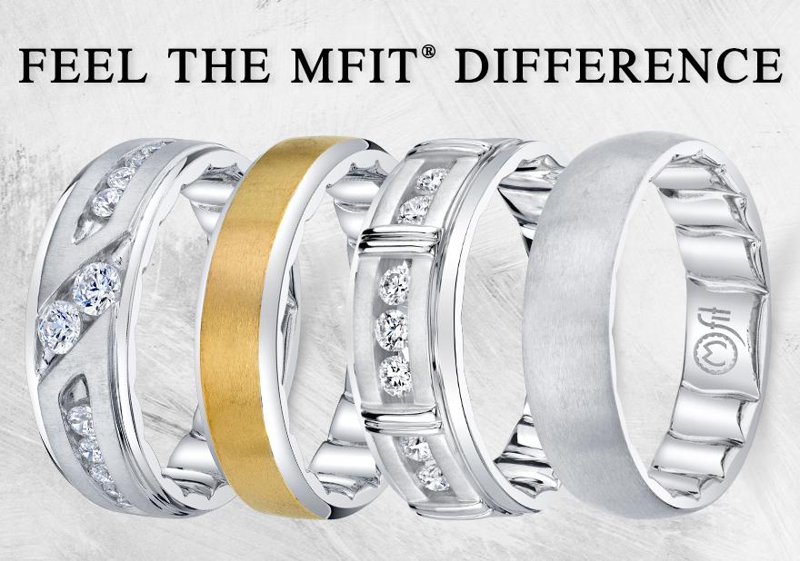 Mfit Men's Wedding Band