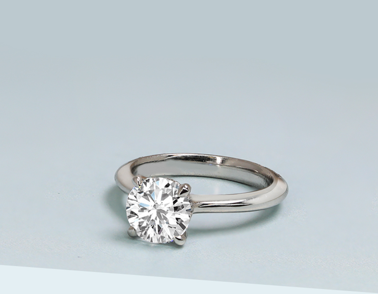 Men's and Women's Platinum Wedding Bands and Engagement Rings