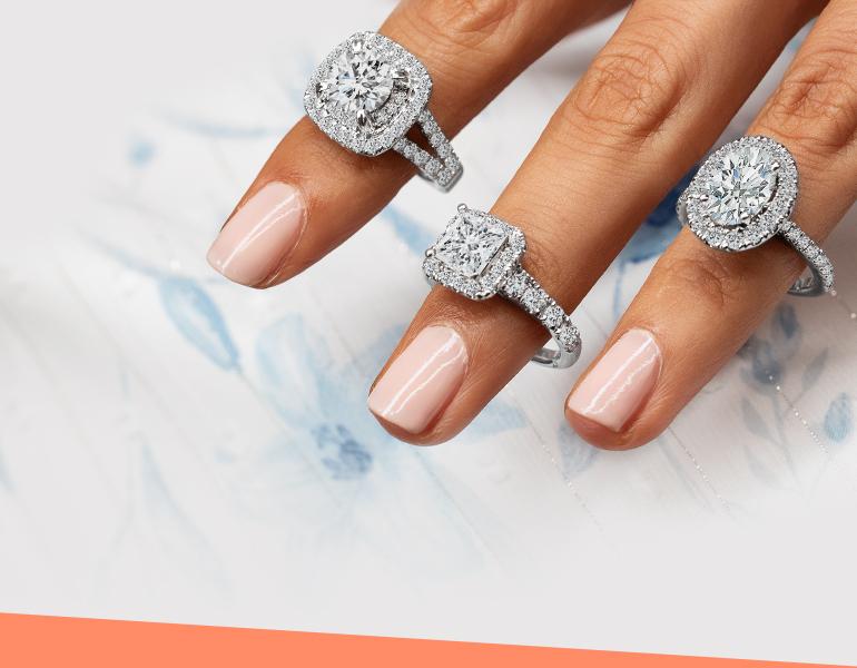 Lab-Grown Diamonds Engagement Rings