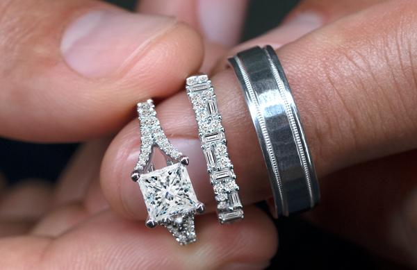 Men And Woman Wedding Rings