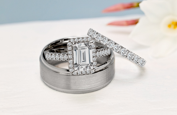 Men And Woman Wedding Rings